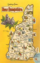 sub014455 - Greetings from New Hampshire, USA  Postcard
