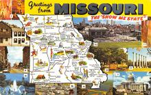 sub014485 - Greetings from Missouri, USA The Show Me State Postcard