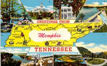 sub014505 - Greetings from Memphis, Tennessee, USA  Postcard