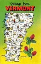 sub014507 - Greetings from Vermont, USA  Postcard