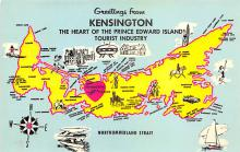 sub014533 - Greetings from Kensington  The Heart of Prince Edward Island Postcard