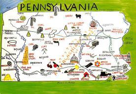 sub014535 - Pennsylvania, USA  Postcard