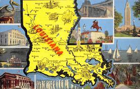 sub014541 - Louisiana, USA  Postcard