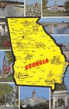sub014543 - Georgia, USA  Postcard