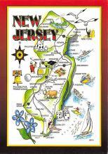 sub014549 - New Jersey, USA  Postcard