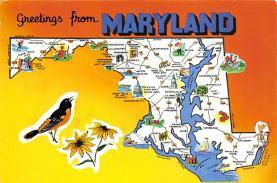 sub014551 - Maryland, USA  Postcard