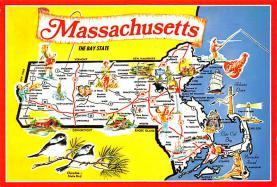 sub014553 - Massachusetts, USA  Postcard