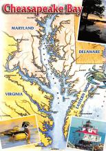 sub014557 - Maryland, USA Cheasapeake Bay Postcard