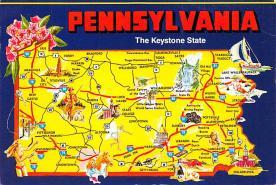 sub014559 - Pennsylvania, USA The Keystone State Postcard