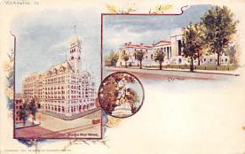 sub014565 - City Hall  Washington DC, USA Postcard