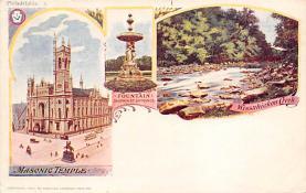 sub014567 - Masonic Temple  Postcard