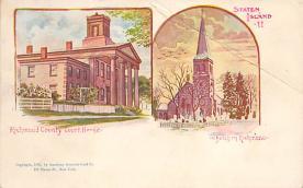 sub014571 - Richmond County Court House Staten Island, NY, USA Postcard