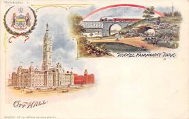 sub014573 - City Hall  Philadelphia, PA, USA Postcard