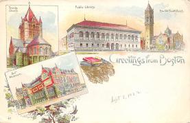 sub014579 - Greetings from Boston Boston, Mass., USA Postcard