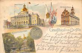 sub014583 - Greetings from Boston Boston, Mass., USA Postcard