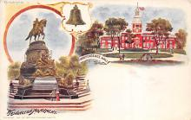 sub014587 - Washington Monument Philadelphia, PA, USA Postcard