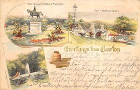 sub014589 - Greetings from Boston Boston, Mass., USA Postcard