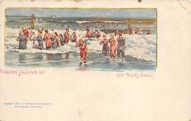 sub014595 - Staten Island on South Beach New York, USA Postcard