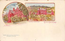 sub014597 - Staten Island, Smith's Infirmary New York, USA Postcard