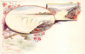 sub014599 - Niagara Falls, Summer New York, USA Postcard