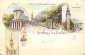 sub014601 - Greetings from Boston Boston, Mass., USA Postcard