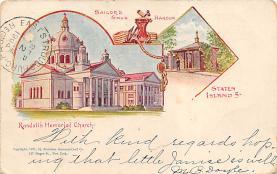 sub014603 - Randall's Memorial Church New York, USA Postcard