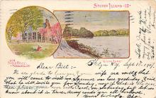 sub014605 - Old Billop House Staten Island, NY, USA Postcard