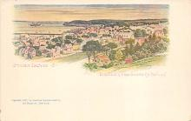 sub014609 - Staten Island New York, USA Postcard