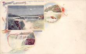 sub014611 - Niagara Falls, Summer New York, USA Postcard