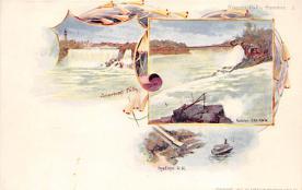 sub014613 - Niagara Falls, Summer New York, USA Postcard
