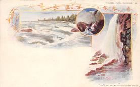 sub014617 - Niagara Falls, Summer New York, USA Postcard