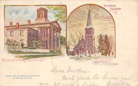 sub014619 - Staten Island New York, USA Postcard