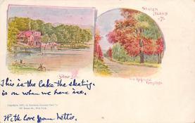 sub014621 - Staten Island New York, USA Postcard