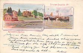 sub014623 - Staten Island New York, USA Postcard