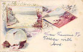 sub014633 - Niagara Falls, Summer New York, USA Postcard