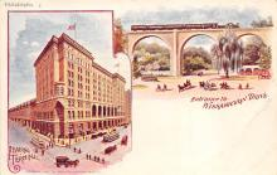 sub014643 - Entrance to Wissahickon Drive Philadelphia, PA, USA Postcard