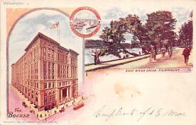 sub014645 - East River Drive Philadelphia, PA, USA Postcard