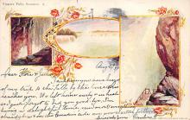 sub014647 - Niagara Falls, Summer New York, USA Postcard