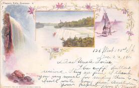 sub014649 - Niagara Falls, Summer New York, USA Postcard