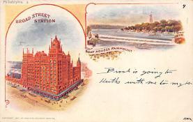 sub014653 - Broad Street Station Philadelphia, PA, USA Postcard