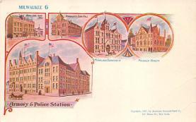 sub014659 - Milwaukee 6 Milwaukee, WS., USA Postcard