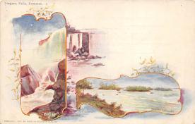 sub014663 - Niagara Falls, Summer New York, USA Postcard