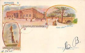 sub014665 - Milwaukee 9 Milwaukee, WS., USA Postcard