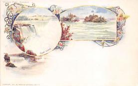 sub014669 - Niagara Falls, Summer New York, USA Postcard