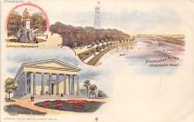 sub014677 - Lincoln Monument Philadelphia, PA, USA Postcard