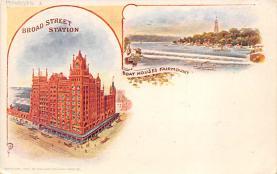 sub014691 - Broad Street Station Philadelphia, PA, USA Postcard
