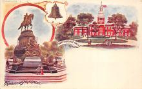 sub014695 - Washington Monument Philadelphia, PA, USA Postcard