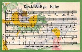 sub014717 - Rock-A-Bye Baby   Postcard