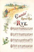 sub014729 - Comin' thro' the Rye  Postcard