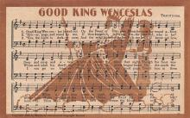 sub014735 - Good King Wenceslas  Postcard